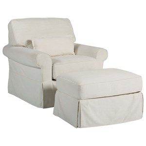 Ventura Chair and Ottoman