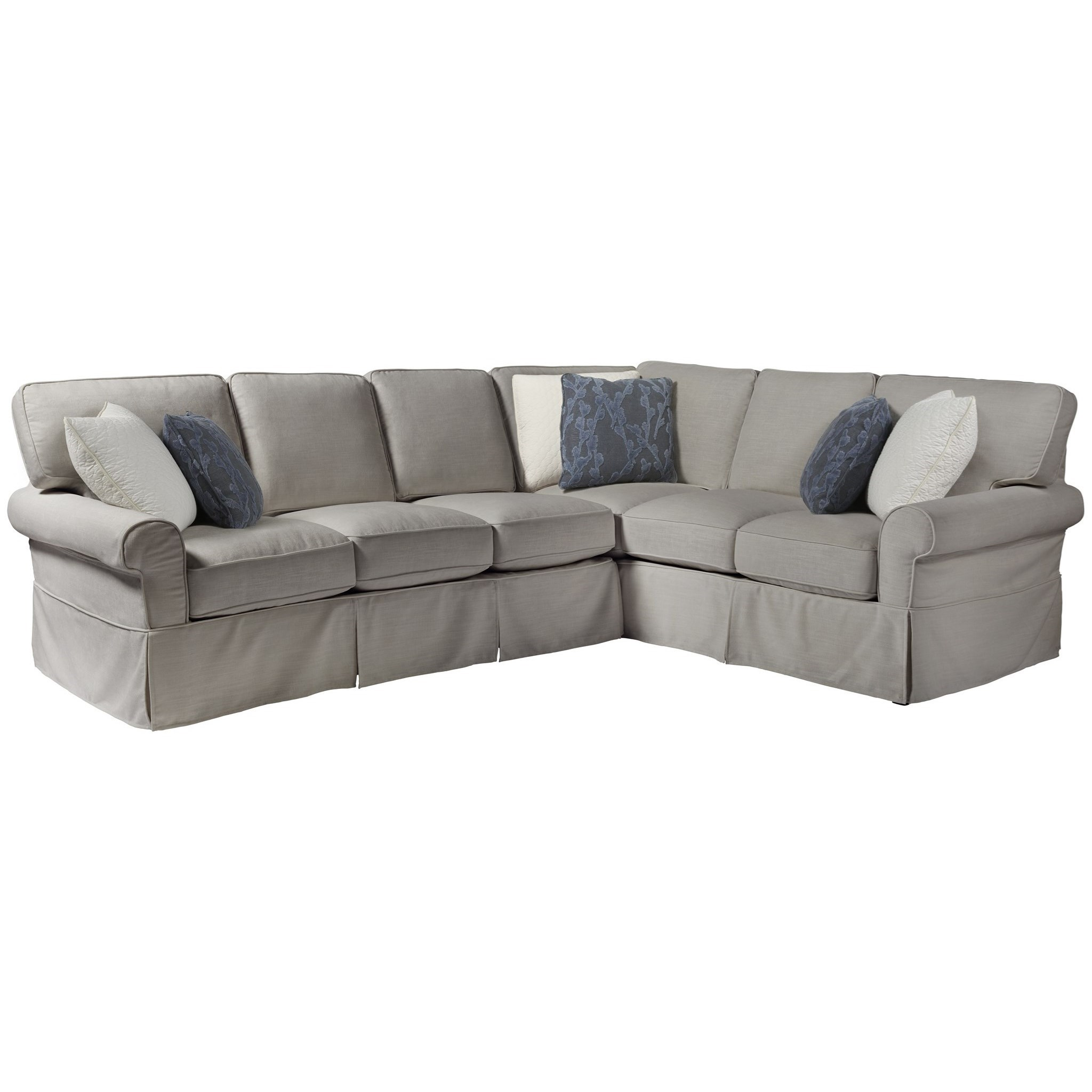 Coastal Living Home - Escape Ventura Left Arm Sectional by Universal at Baer's Furniture