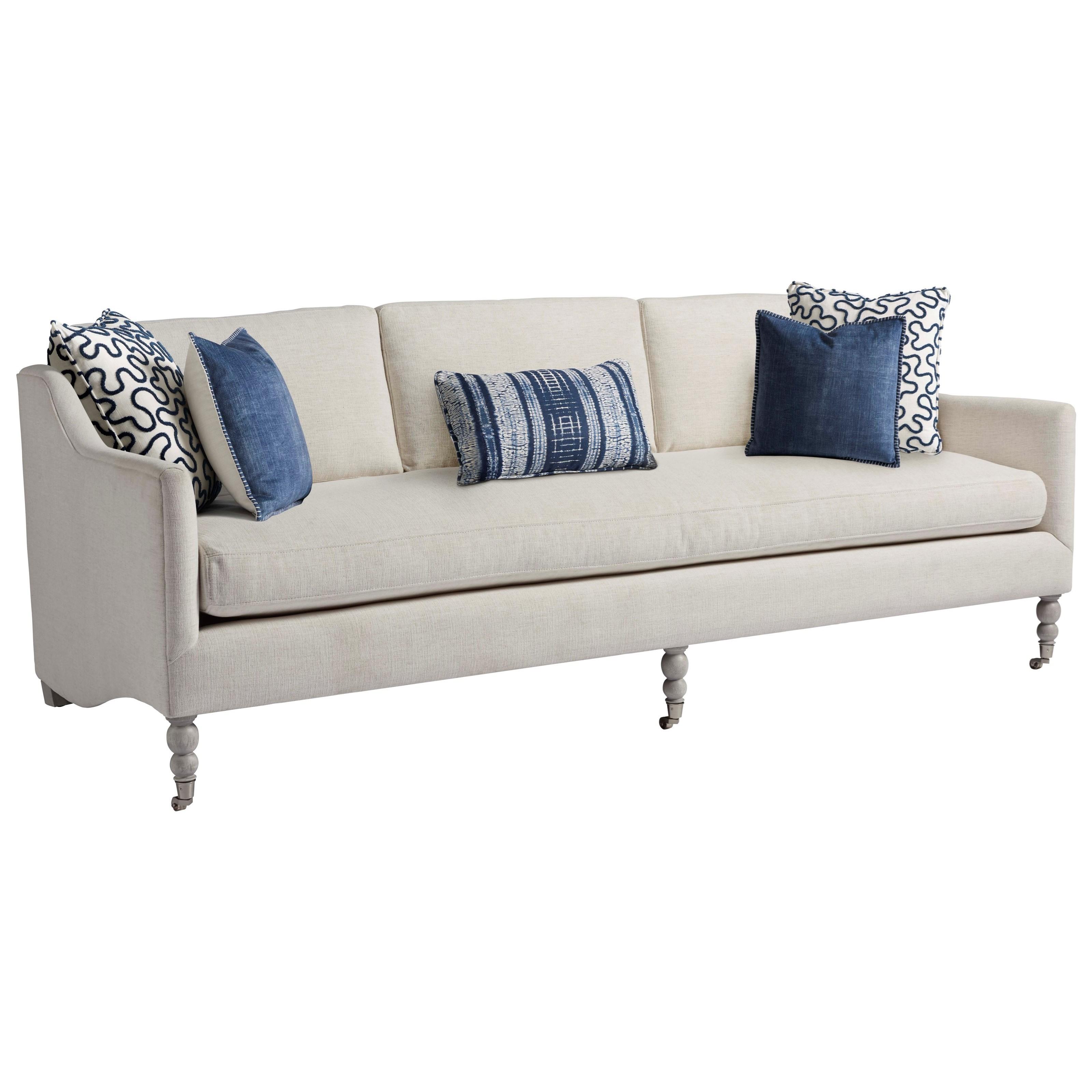 Coastal Living Home - Escape Kiawah Sofa by Universal at Baer's Furniture