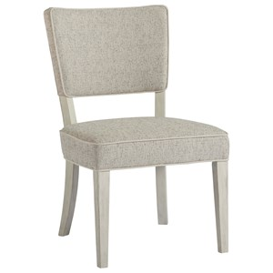 Destin Side Chair with Upholstered Seat and Back