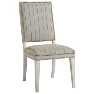 Hamptons Dining Chair with Nail Head Trim