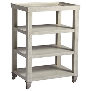 3 Shelf Side Table in Sandbar Finish