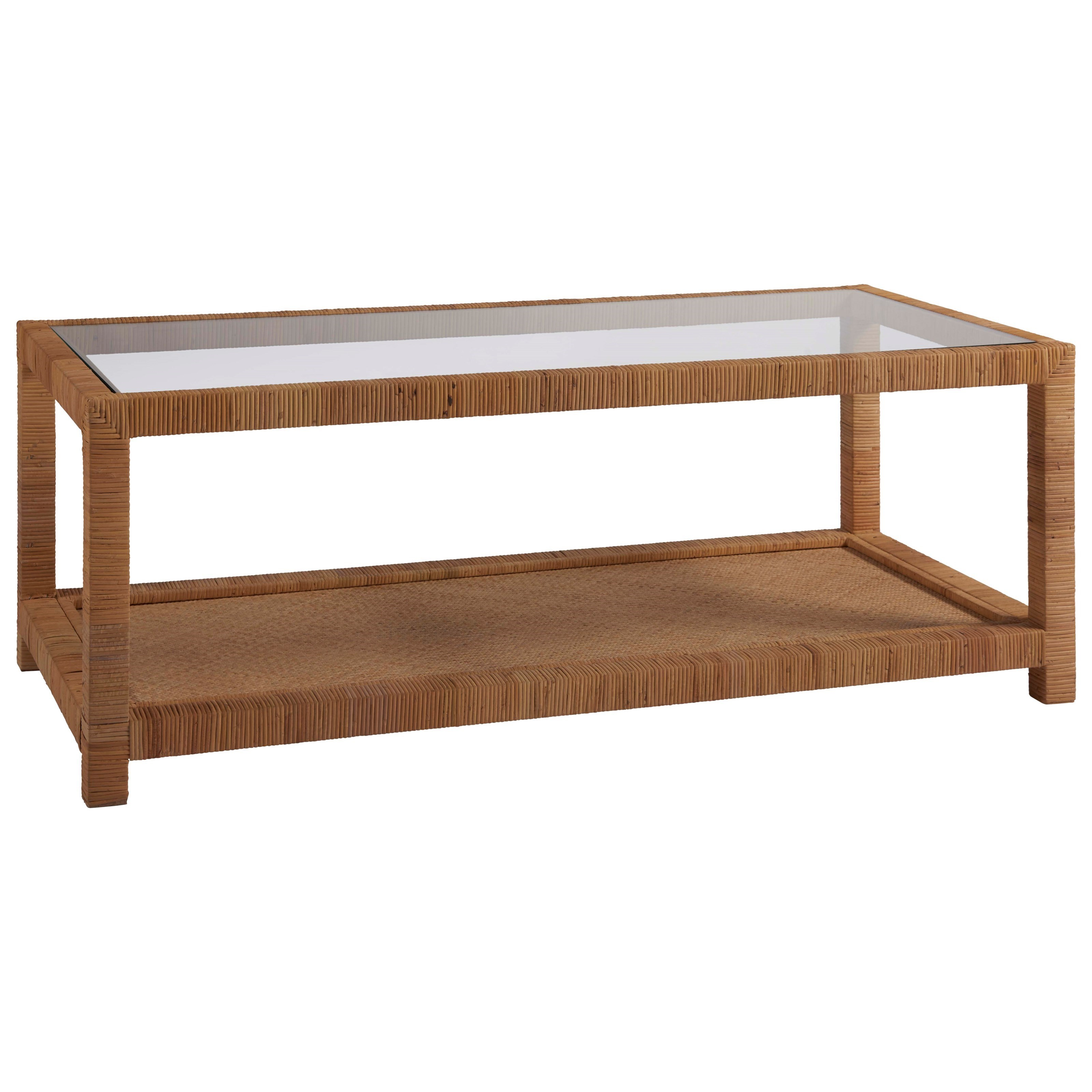 Coastal Living Home - Escape Long Key Cocktail Table by Universal at Baer's Furniture