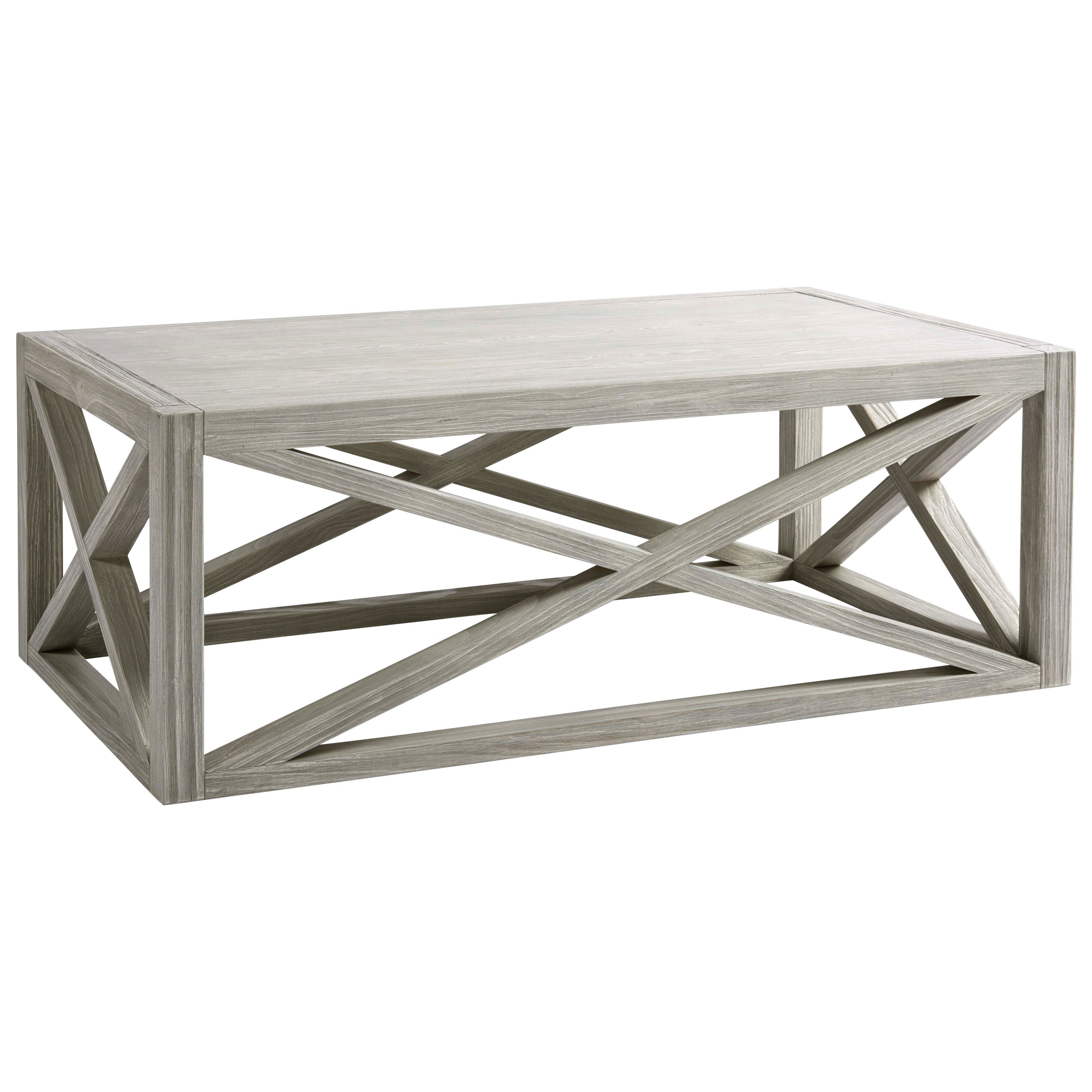 Coastal Living Home - Escape Boardwalk Cocktail Table by Universal at Baer's Furniture