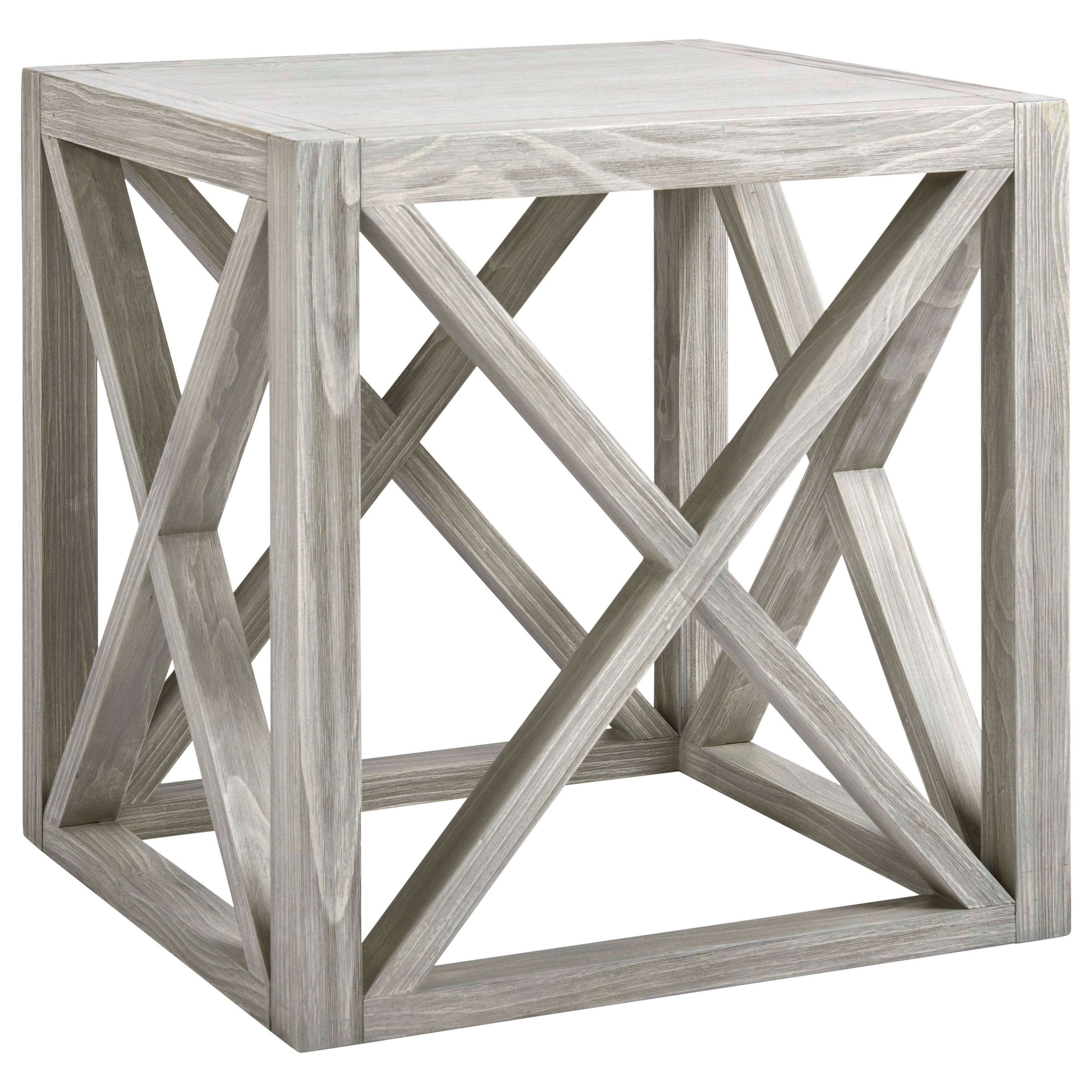 Coastal Living Home - Escape Boardwalk End Table by Universal at Stuckey Furniture
