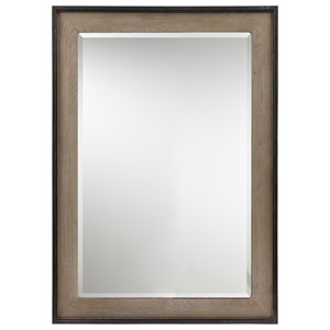 Spencer Mirror with Two-Tone Finish