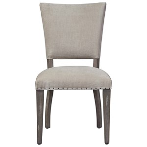 Pearson Upholstered Side Chair with Decorative Tack Trim