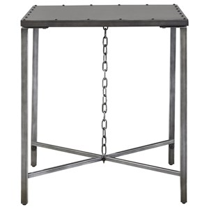 Eliston End Table with Chain Link