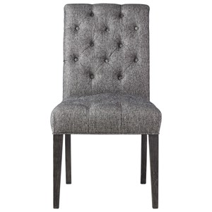 Aldrich Side Chair with Button Tufting