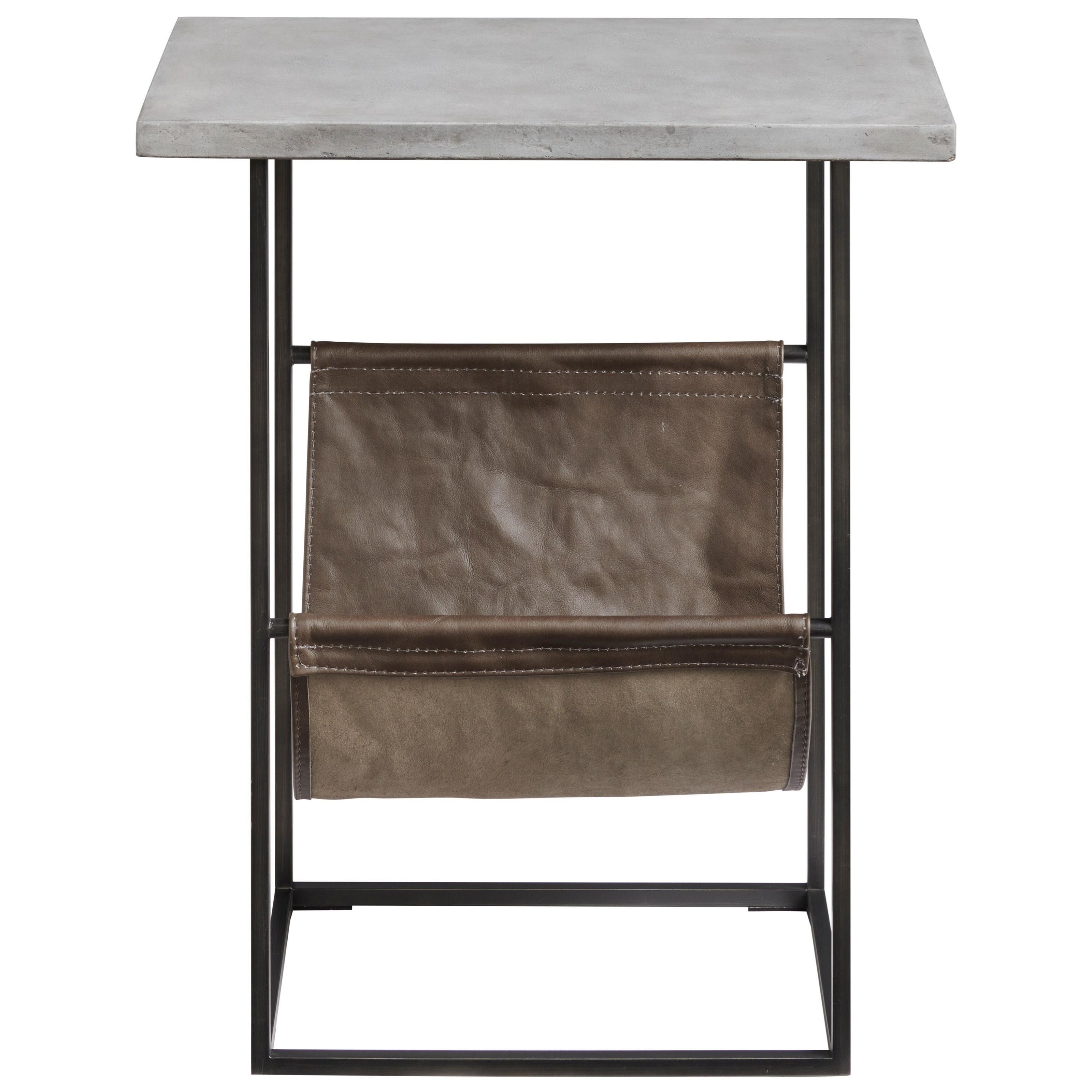 Curated Paradigm Chair Side Table by Universal at Baer's Furniture