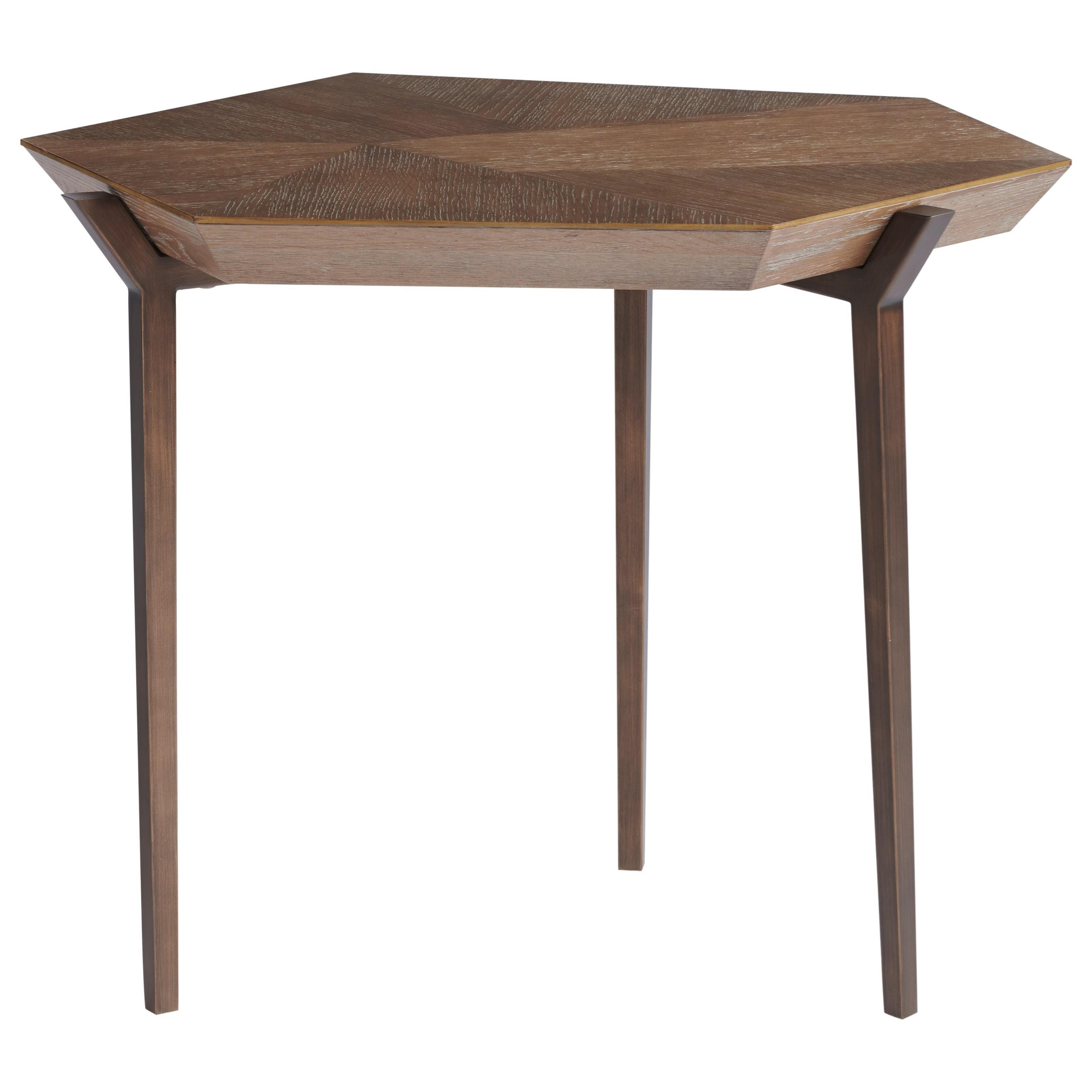 Curated Divergence End Table by Universal at Baer's Furniture