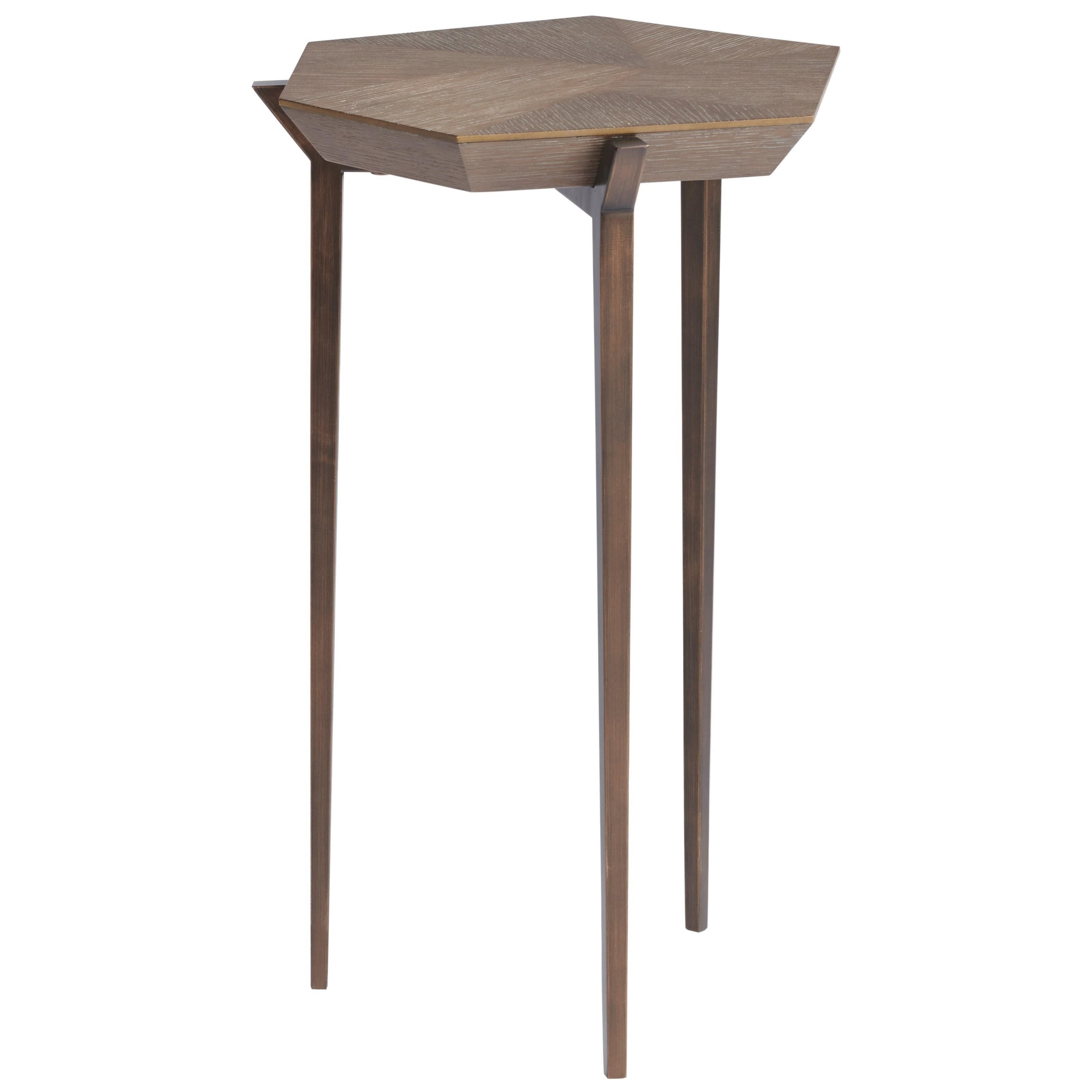 Curated Divergence Chair Side Table by Universal at Baer's Furniture