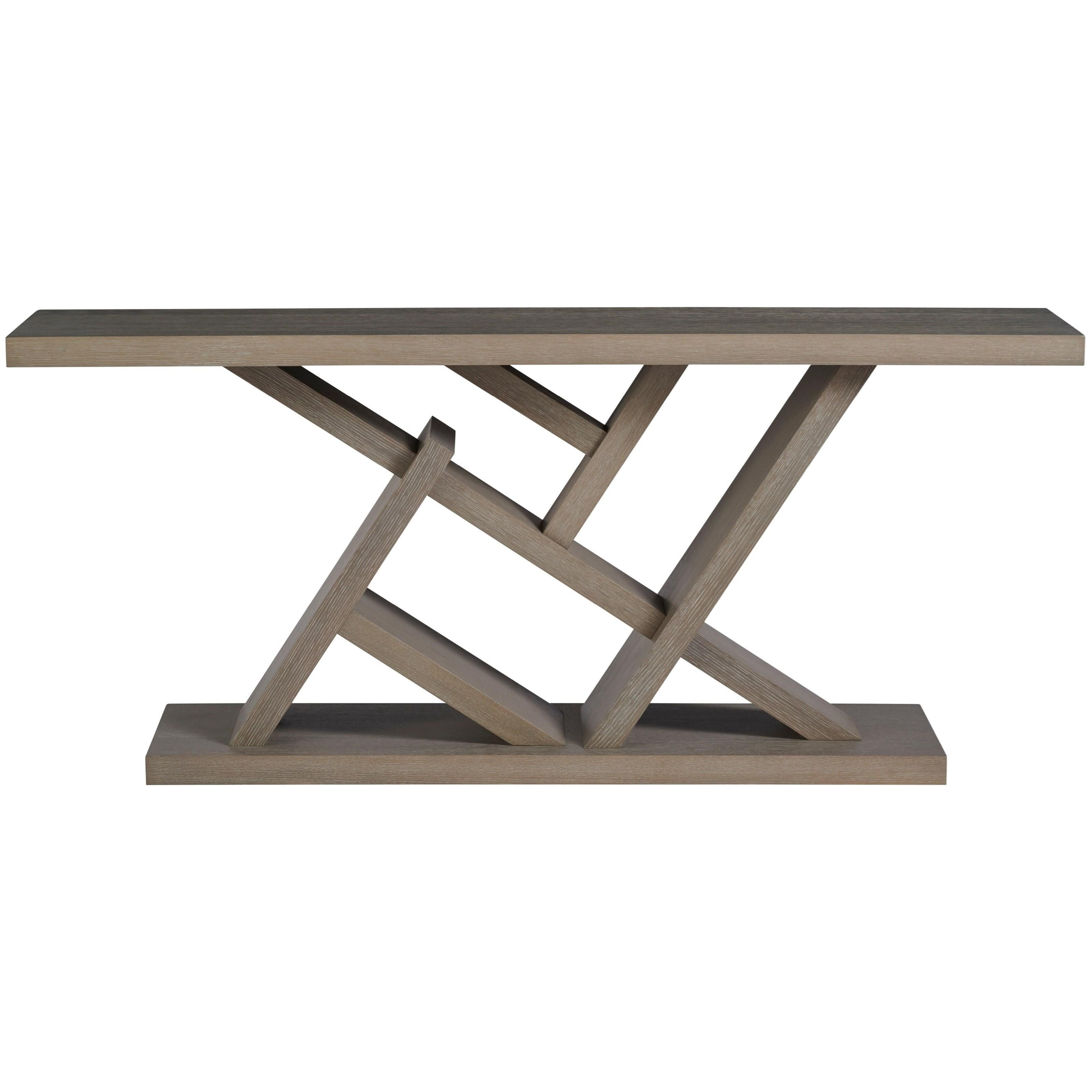 Curated Lumin Console Table by Universal at Baer's Furniture