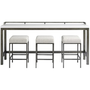 Essence Console Table w/Stools