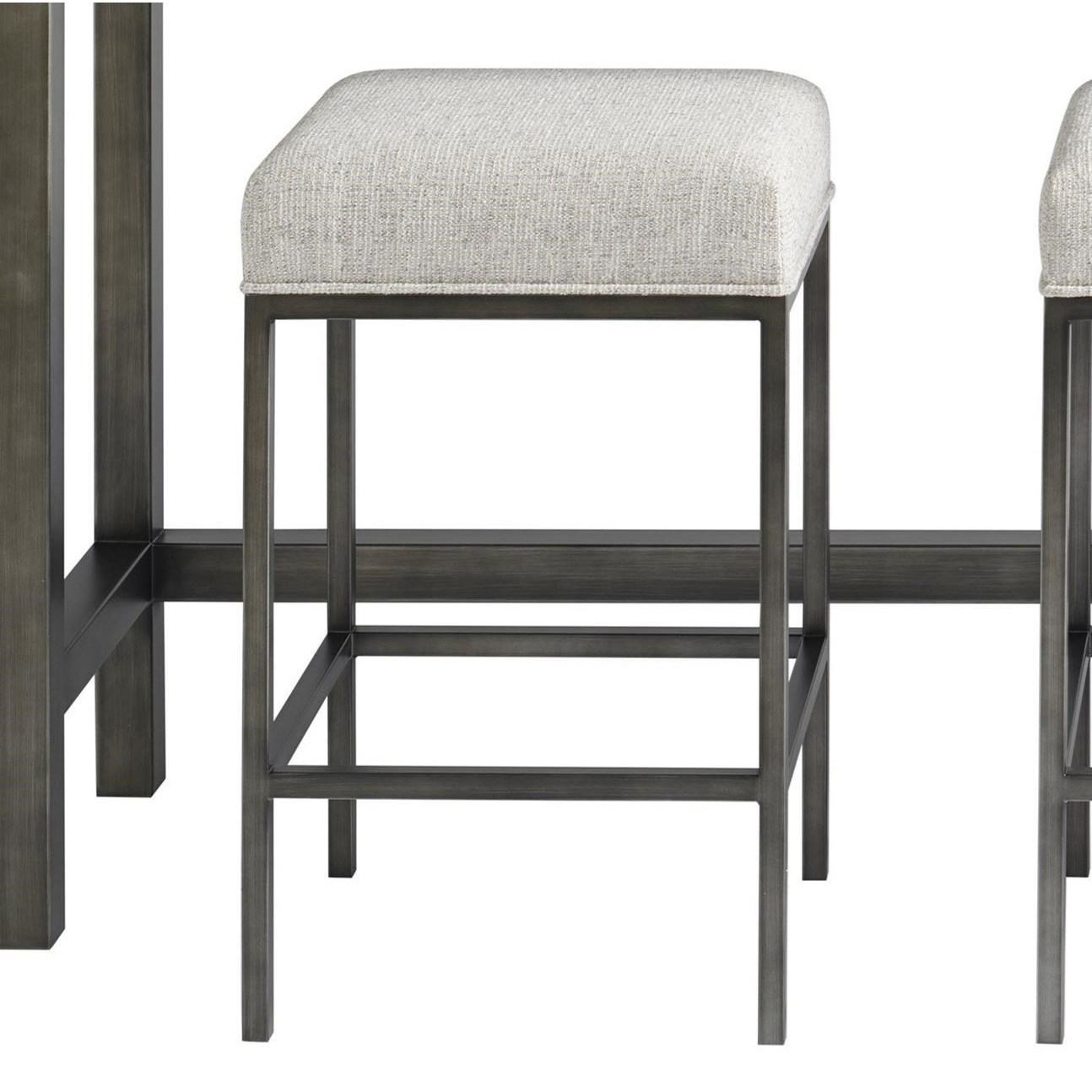 Curated Essence Console Stool by Universal at Baer's Furniture