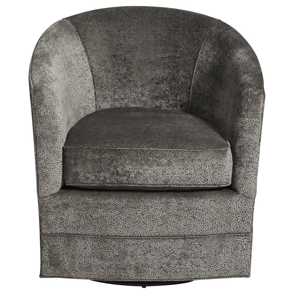 Curated Burke Swivel Chair by Universal at Baer's Furniture