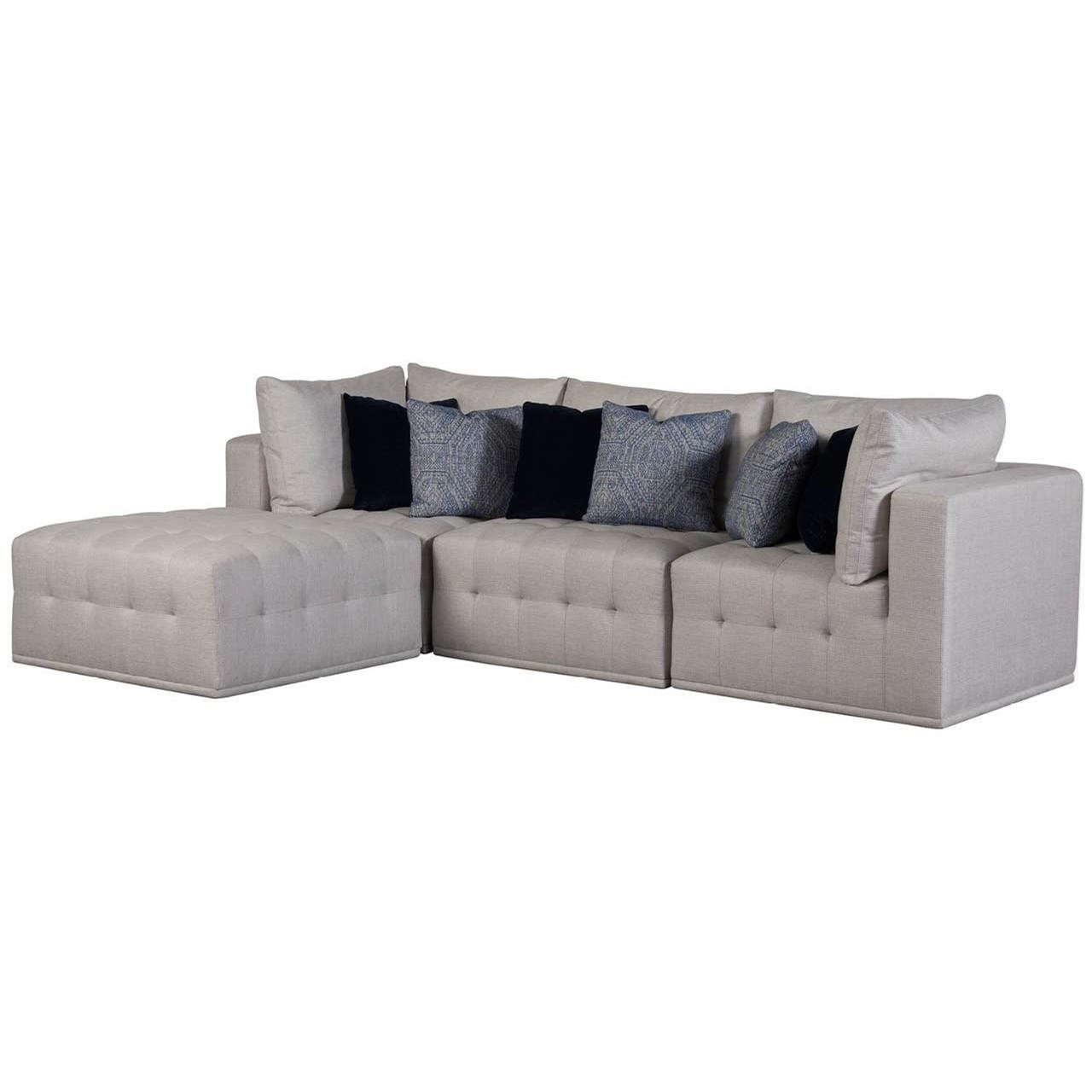 Donovan 4-Piece Sectional by Universal at Powell's Furniture and Mattress