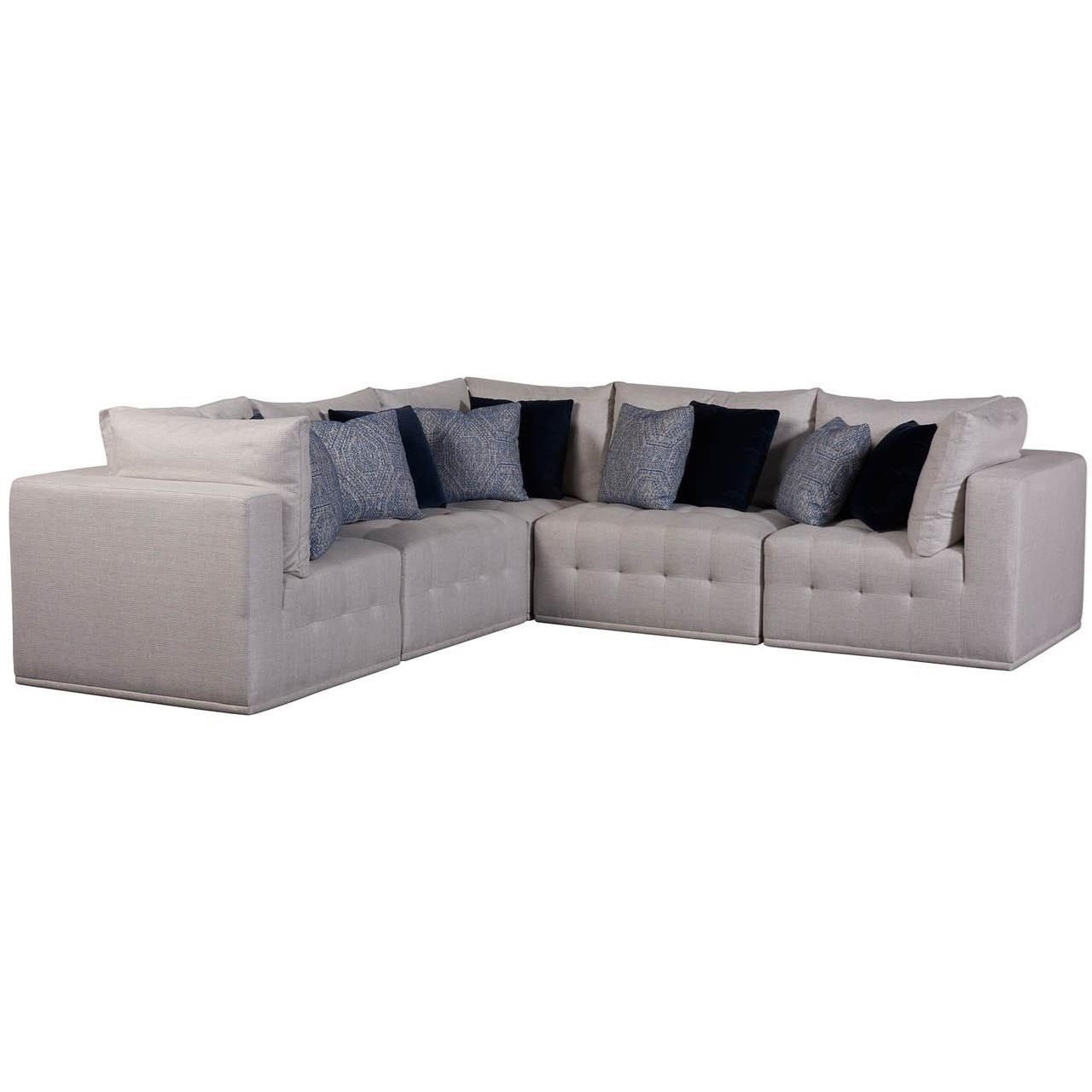 Donovan 5-Piece Sectional by Universal at Zak's Home