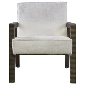 Hair on Hide Accent Chair