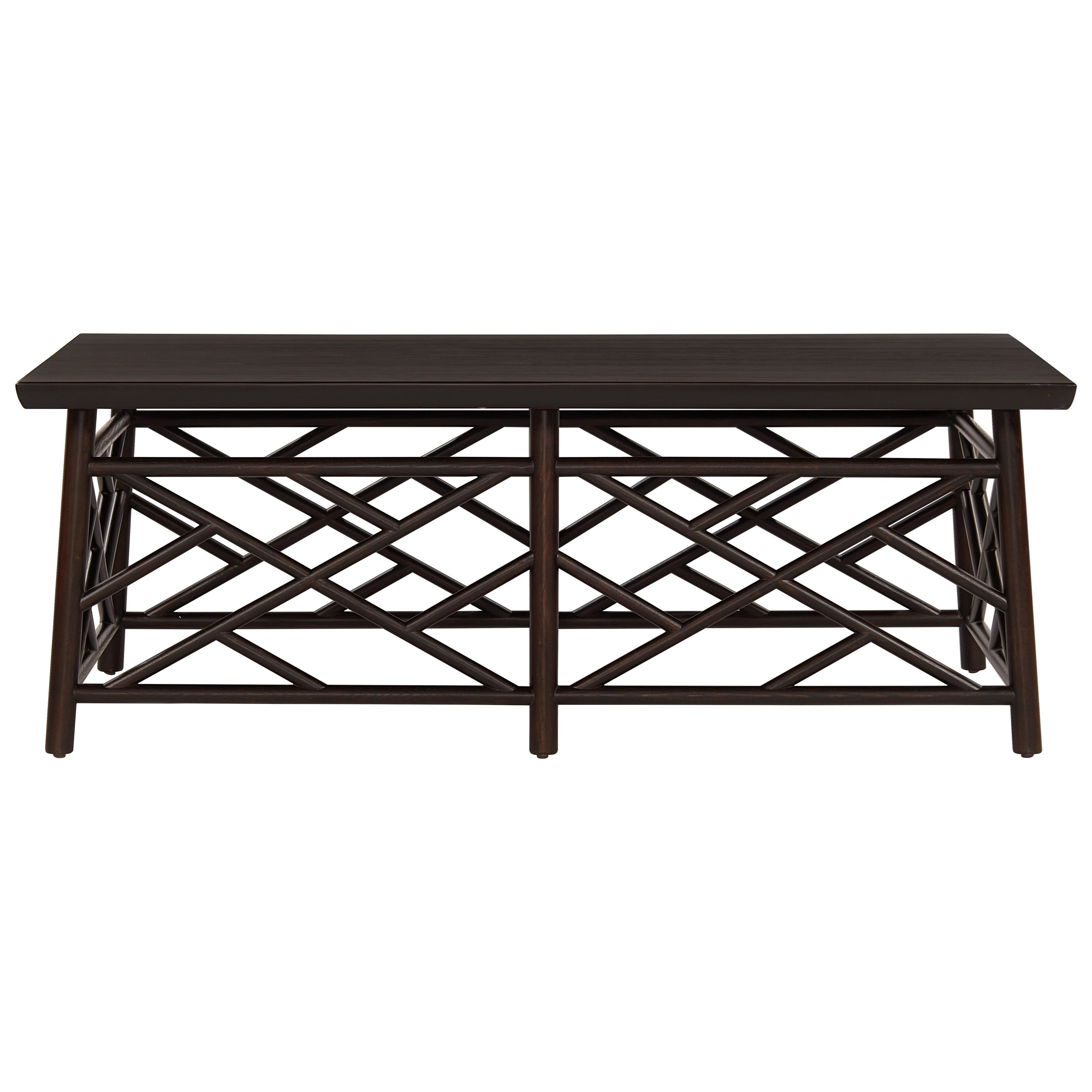 Coastal Living Home - Getaway Cocktail Table by Universal at Baer's Furniture