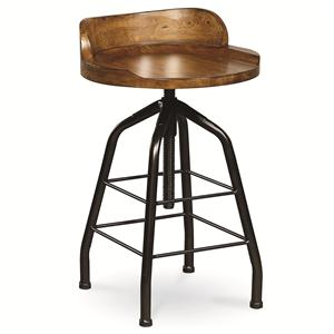 Potter's Stool with Swivel Height Adjustment