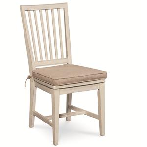 Vertical Slat Side Dining Chair