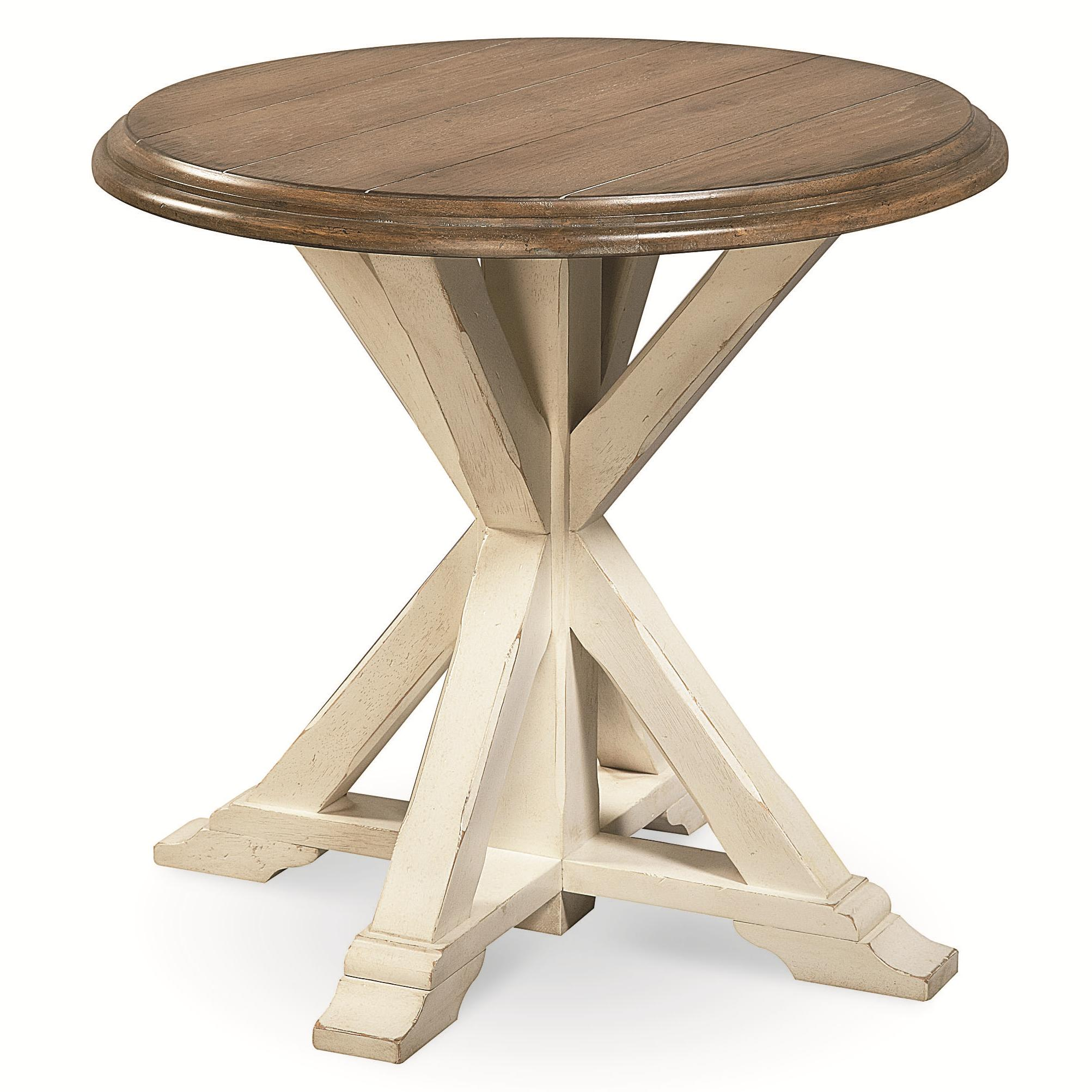 Curated Garden End Table by Universal at Johnny Janosik