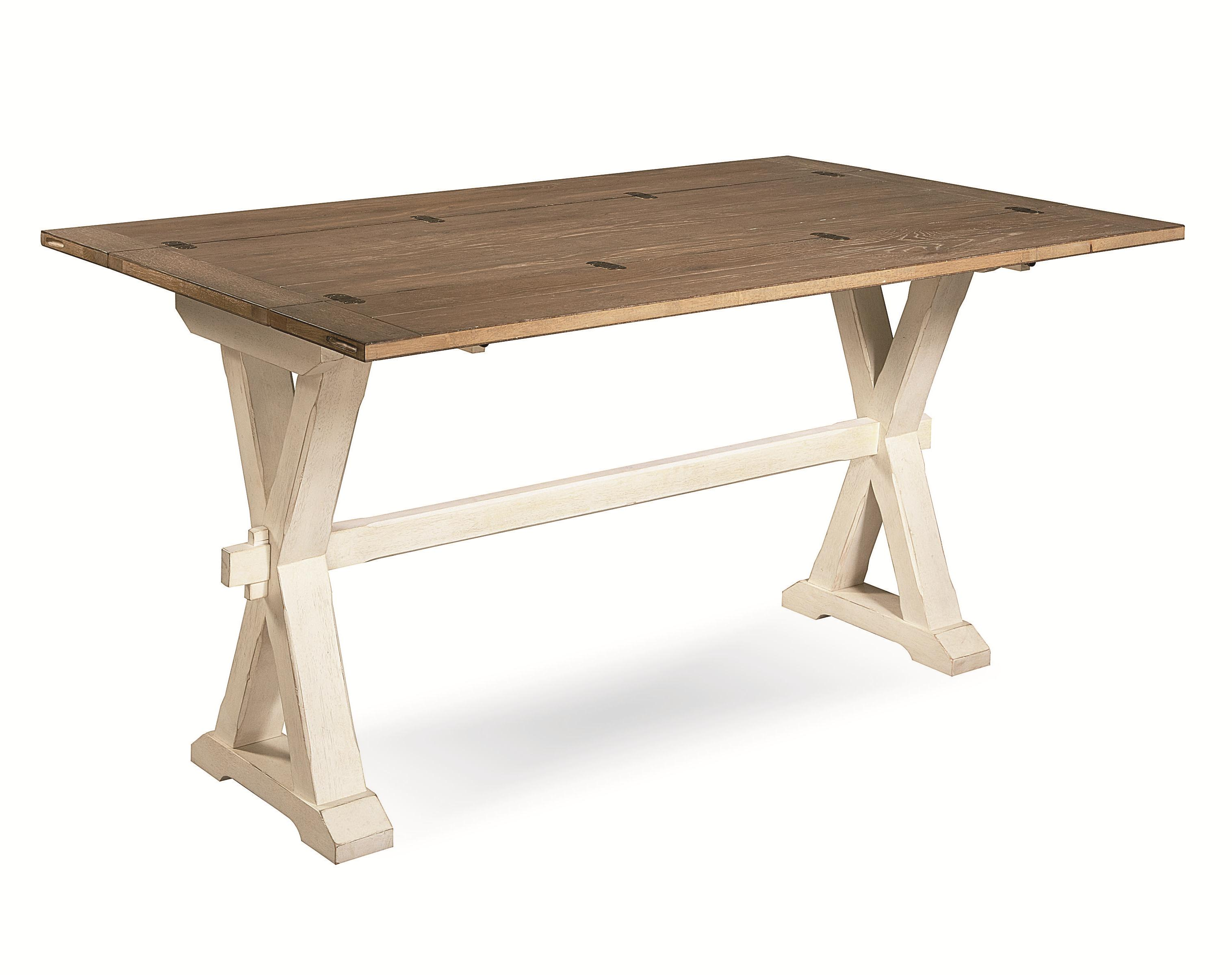 Curated Drop Leaf Console Table by Universal at Johnny Janosik