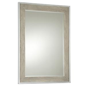 Vertical Spencer Beveled Glass Mirror