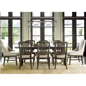 9 Piece Dining Set with Chelsea Kitchen Table