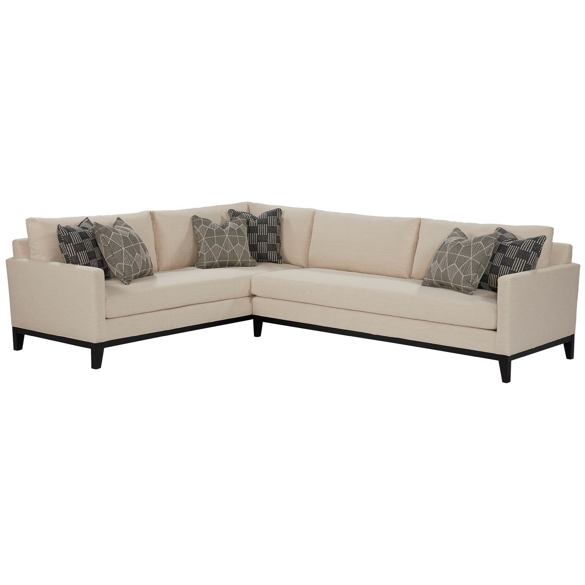 Jude Sectional by Universal at Zak's Home