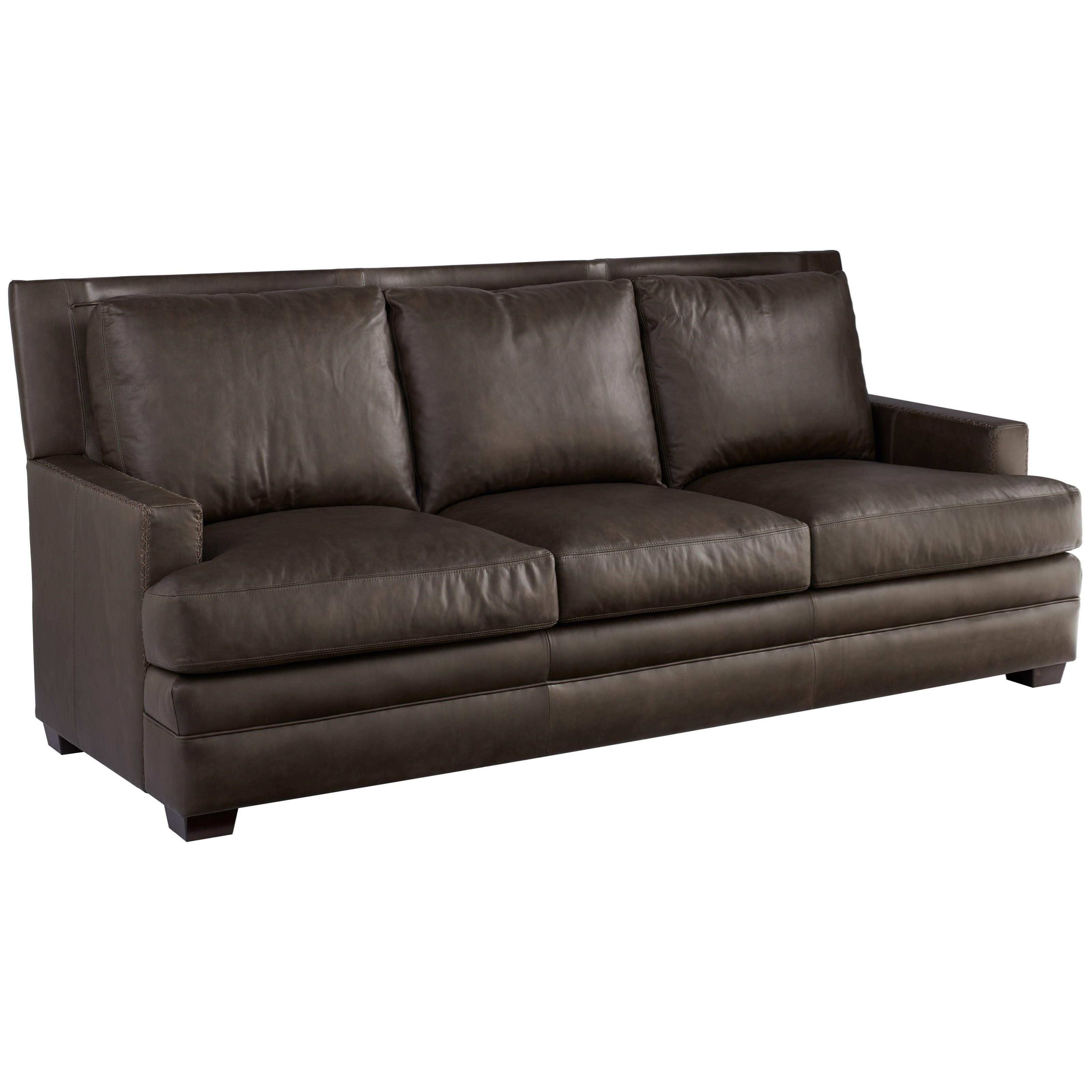 Leather Kipling Sofa by Universal at Baer's Furniture