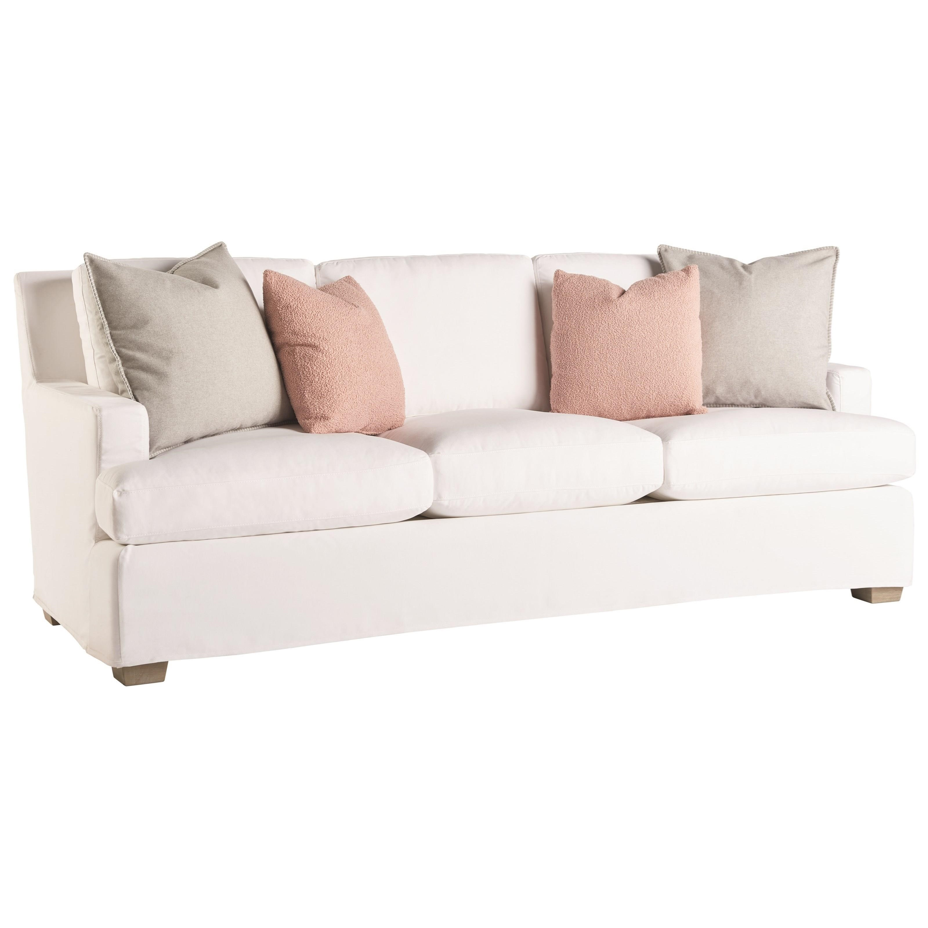 Love. Joy. Bliss.-Miranda Kerr Home Malibu Slipcover Sofa by Universal at Suburban Furniture