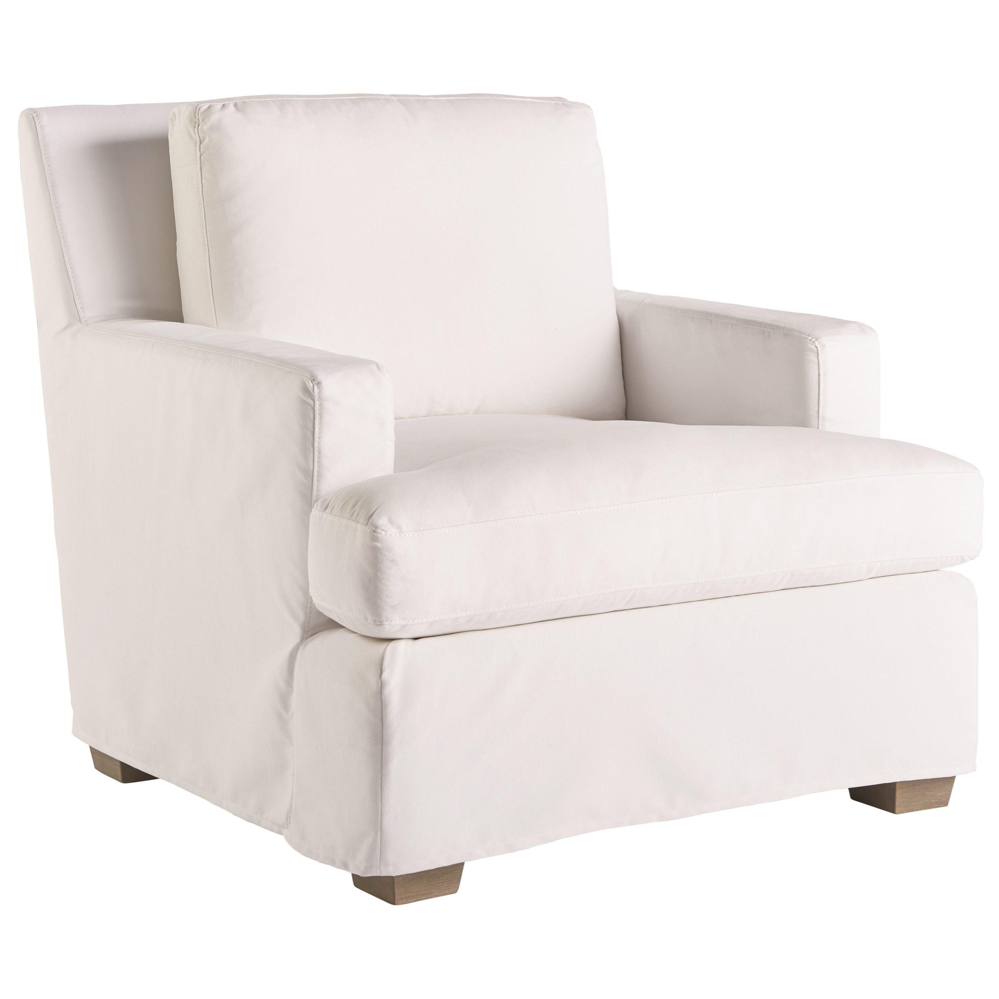 Love. Joy. Bliss.-Miranda Kerr Home Malibu Slipcover Chair by Universal at Baer's Furniture