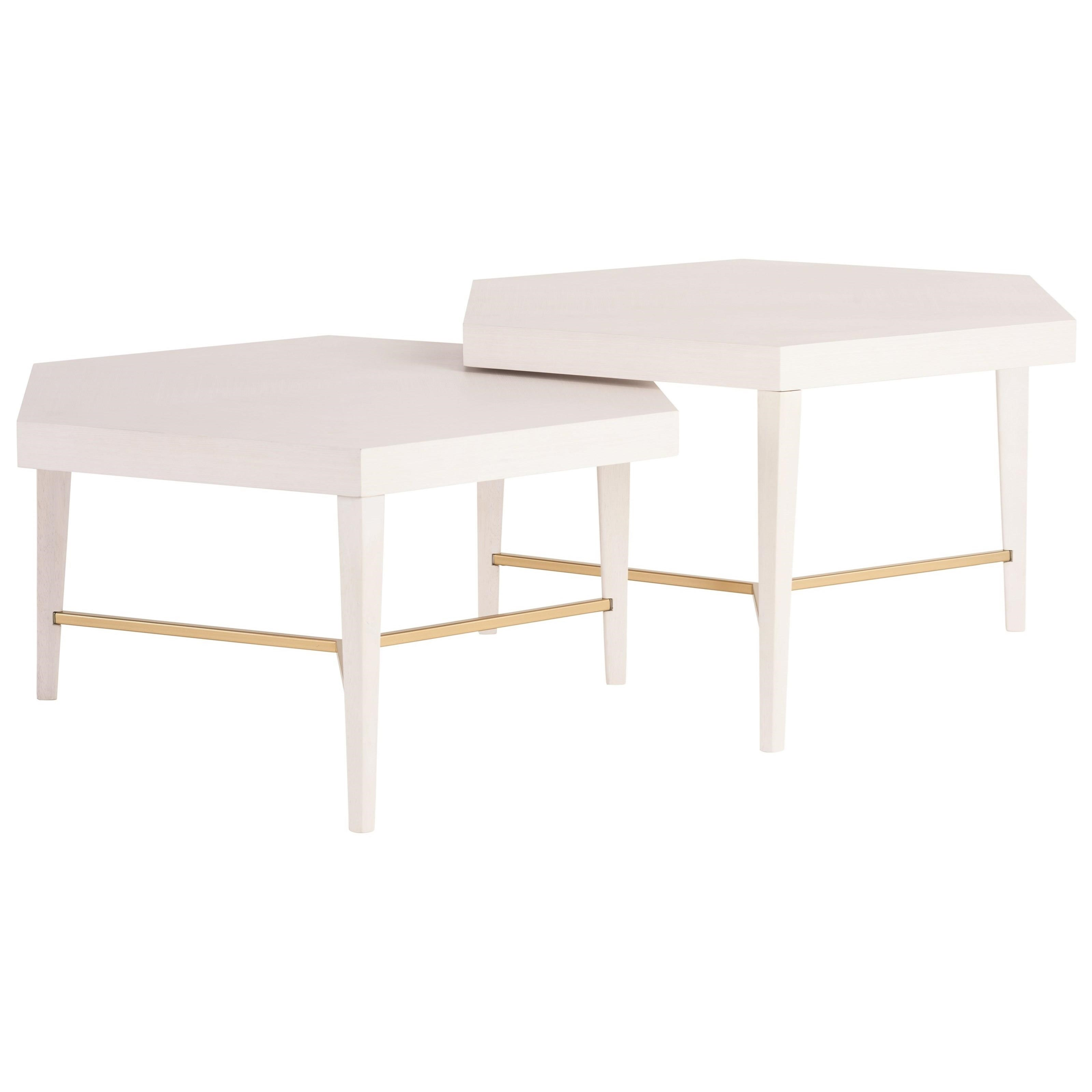 Love. Joy. Bliss.-Miranda Kerr Home Sydney Bunching Cocktail Tables by Universal at Stoney Creek Furniture