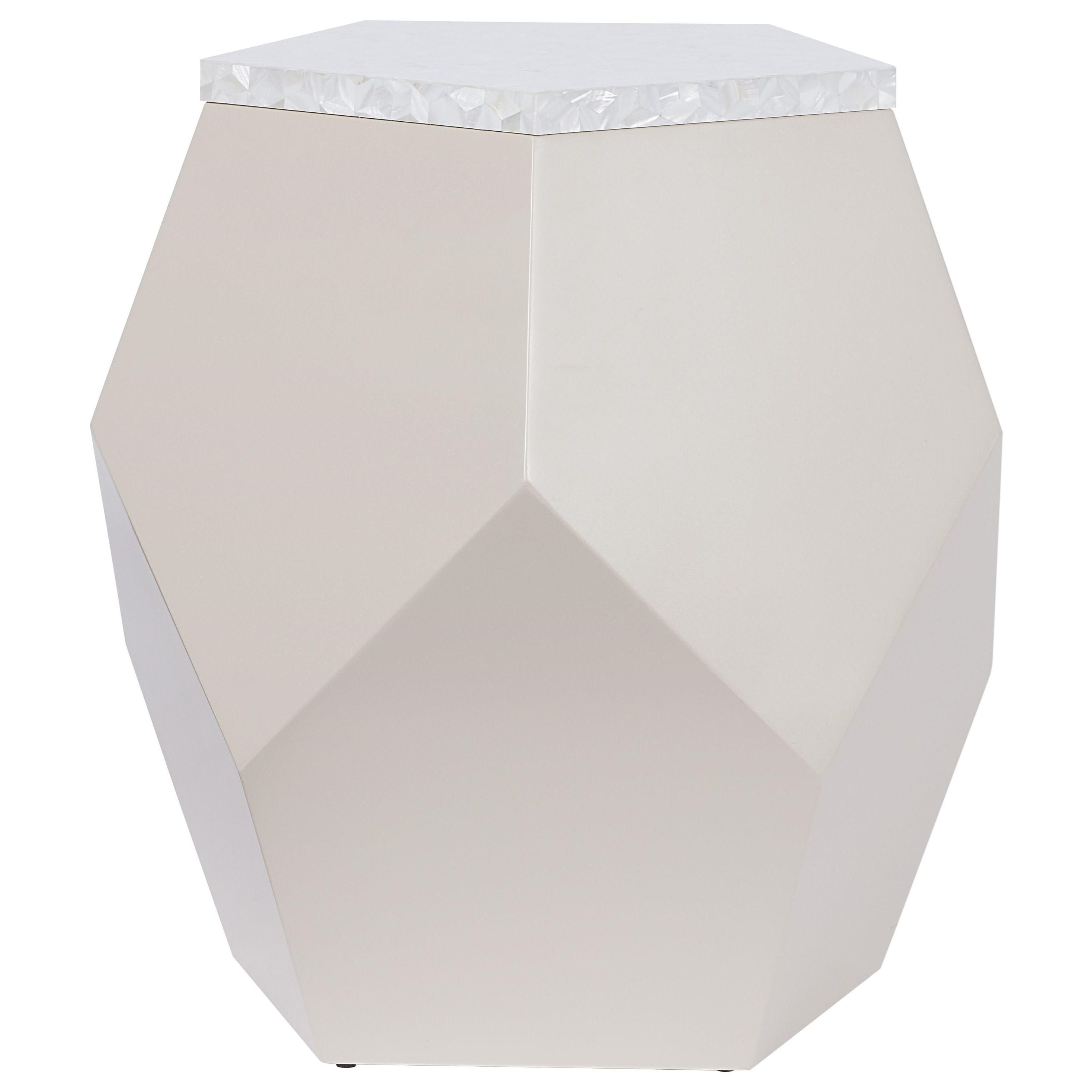 Love. Joy. Bliss.-Miranda Kerr Home Geo End Table by Universal at Baer's Furniture