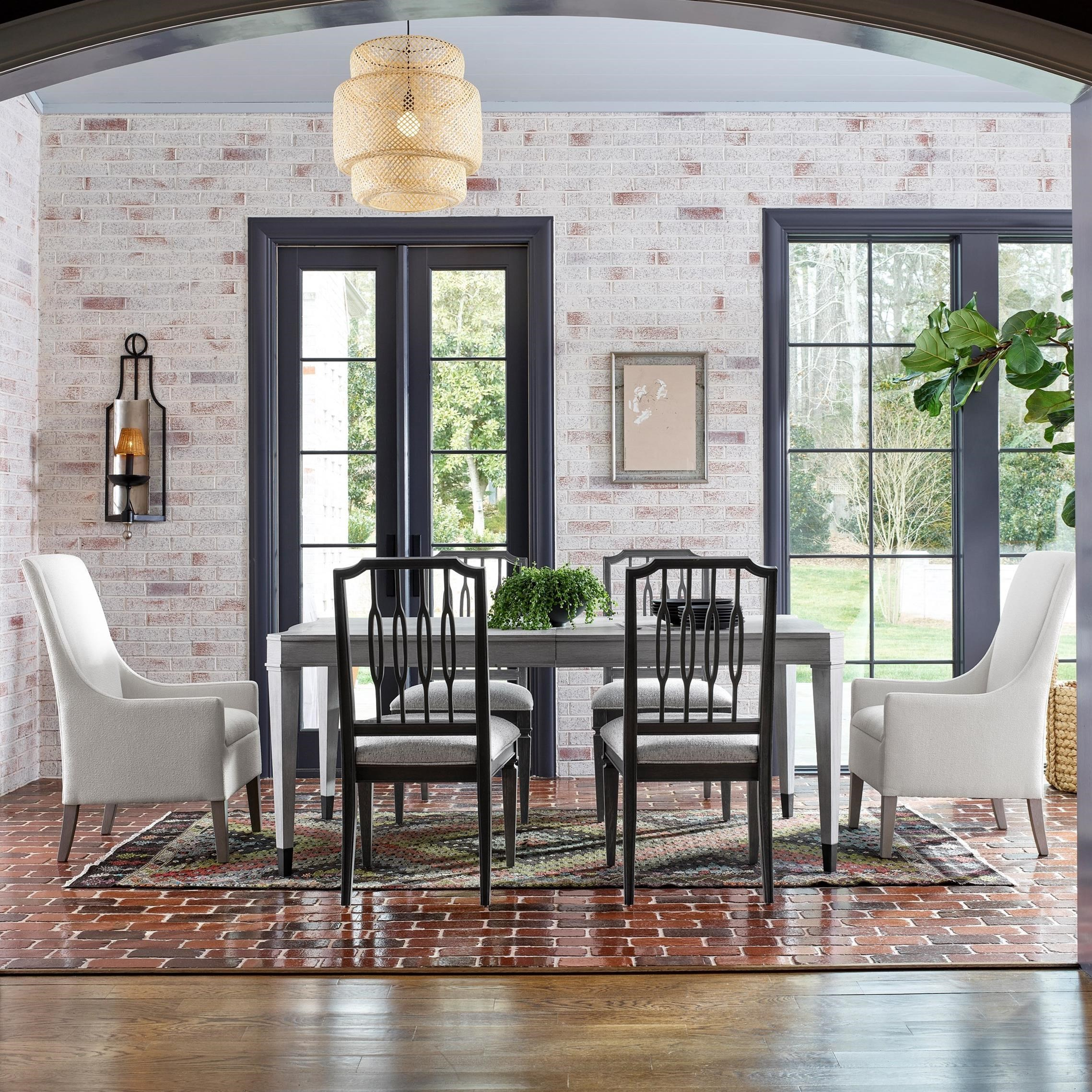 Midtown 7-Piece Table and Chair Set by Universal at Baer's Furniture