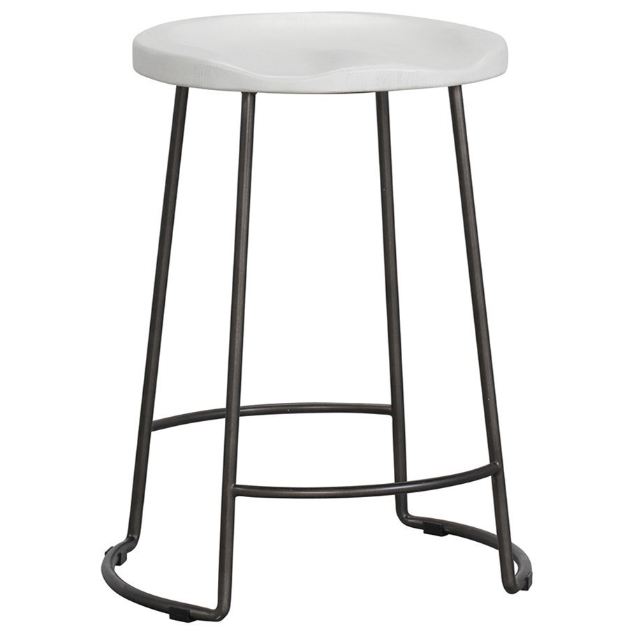 Modern Farmhouse Reid Counter Stool by Universal at Baer's Furniture