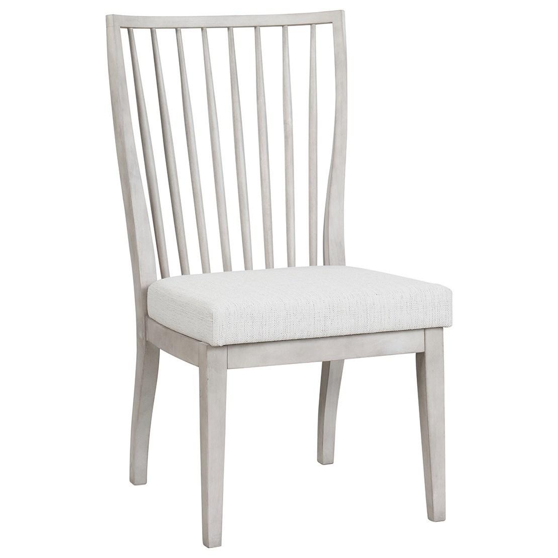 Modern Farmhouse Bowen Side Chair by Universal at Baer's Furniture