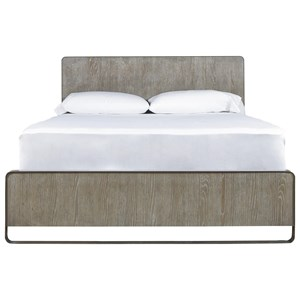 Keaton Cal King Bed with Metal Frame