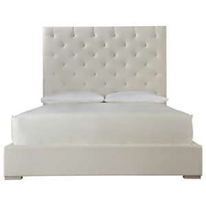 Brando Queen Bed with Tufted Headboard