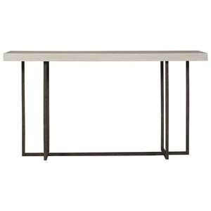 Wilder Console Table with Bronze Base