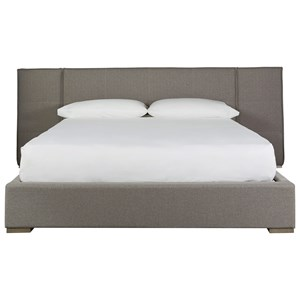 Upholstered Connery King Bed with Panels