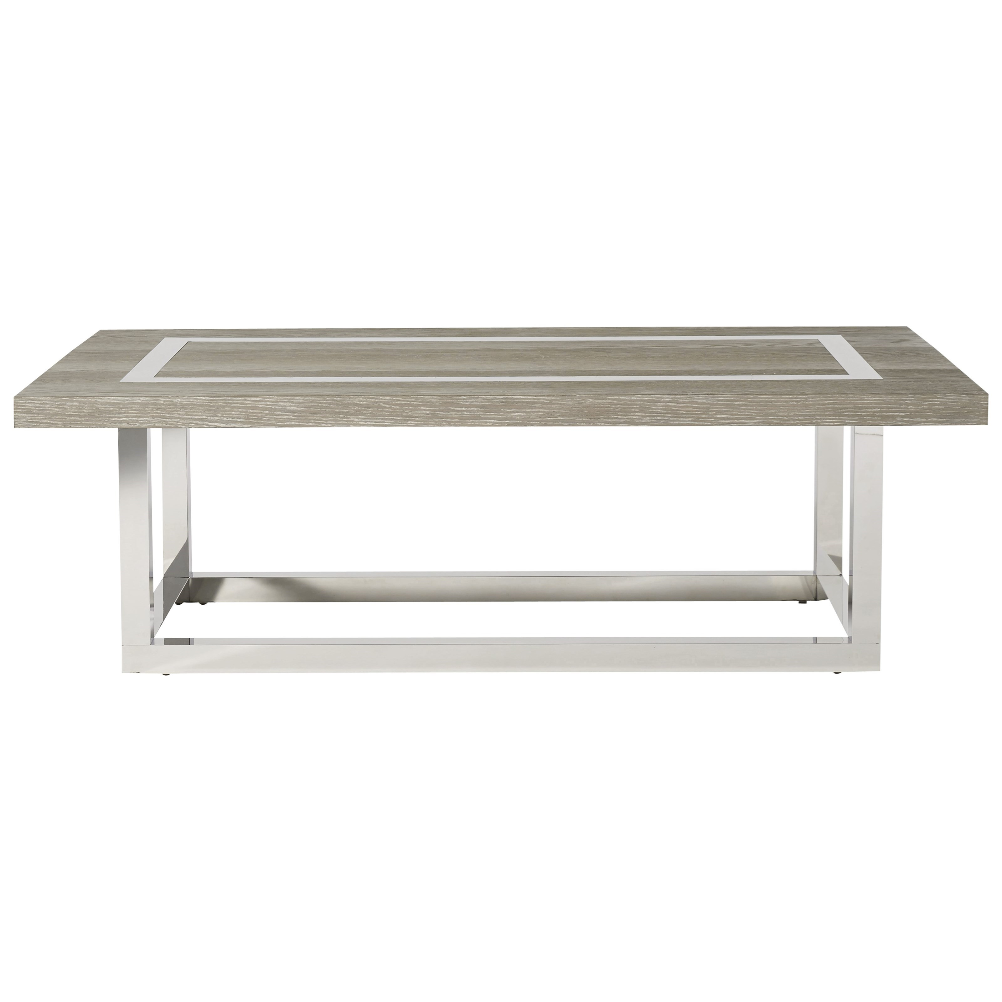 Modern Wyatt Cocktail Table by Universal at Miller Waldrop Furniture and Decor