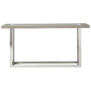 Wyatt Console Table with Stainless Steal Base