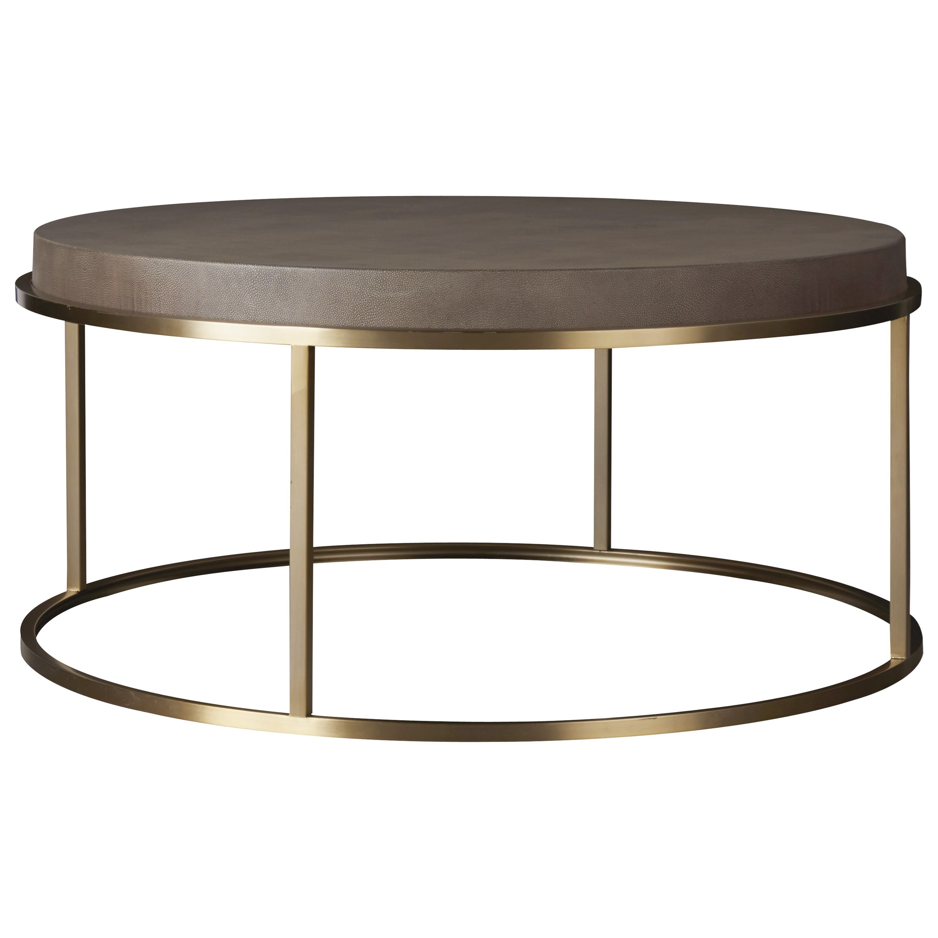 Modern Bennett Round Cocktail Table by Universal at Baer's Furniture