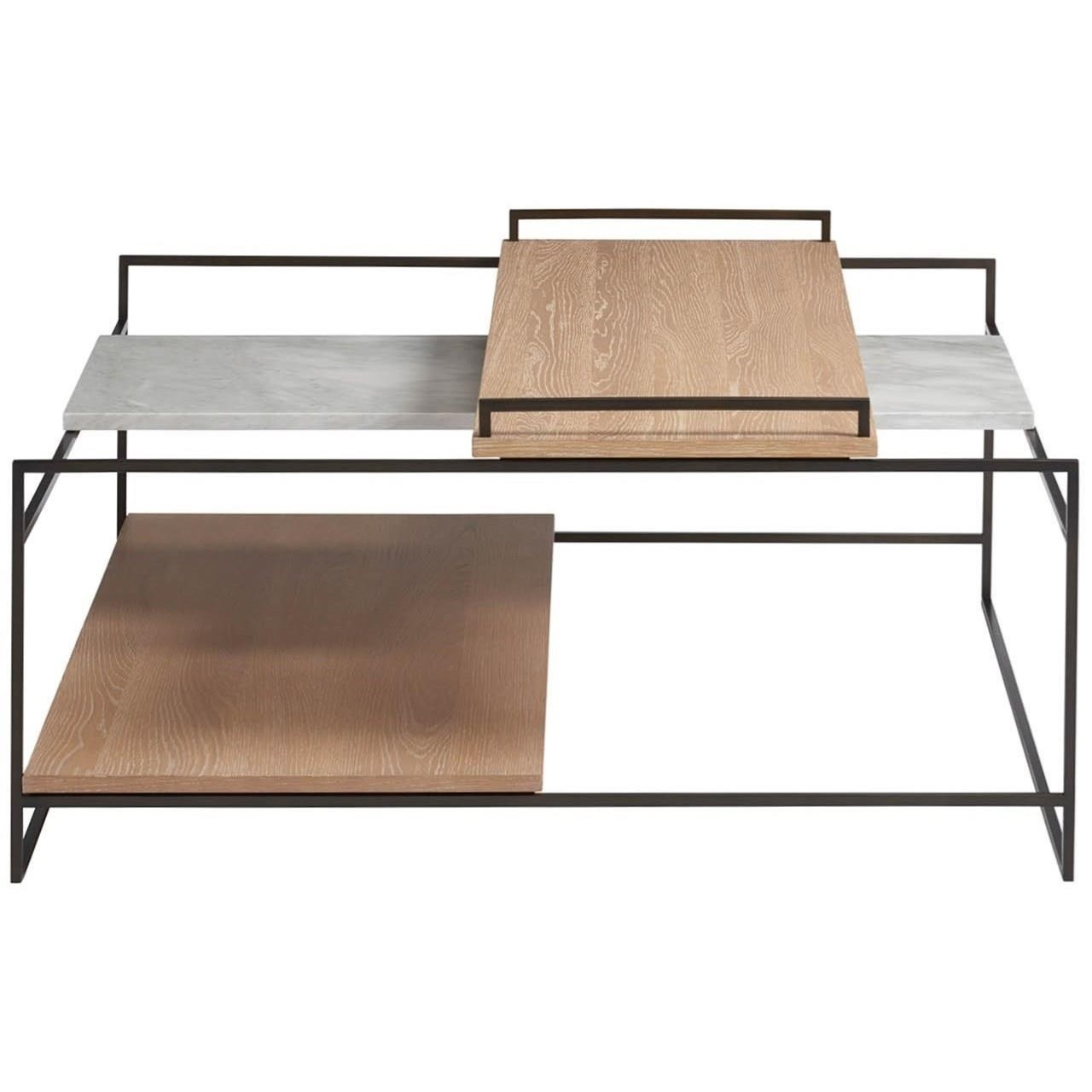 Modern - Sand Crawford Cocktail Table by Universal at Baer's Furniture