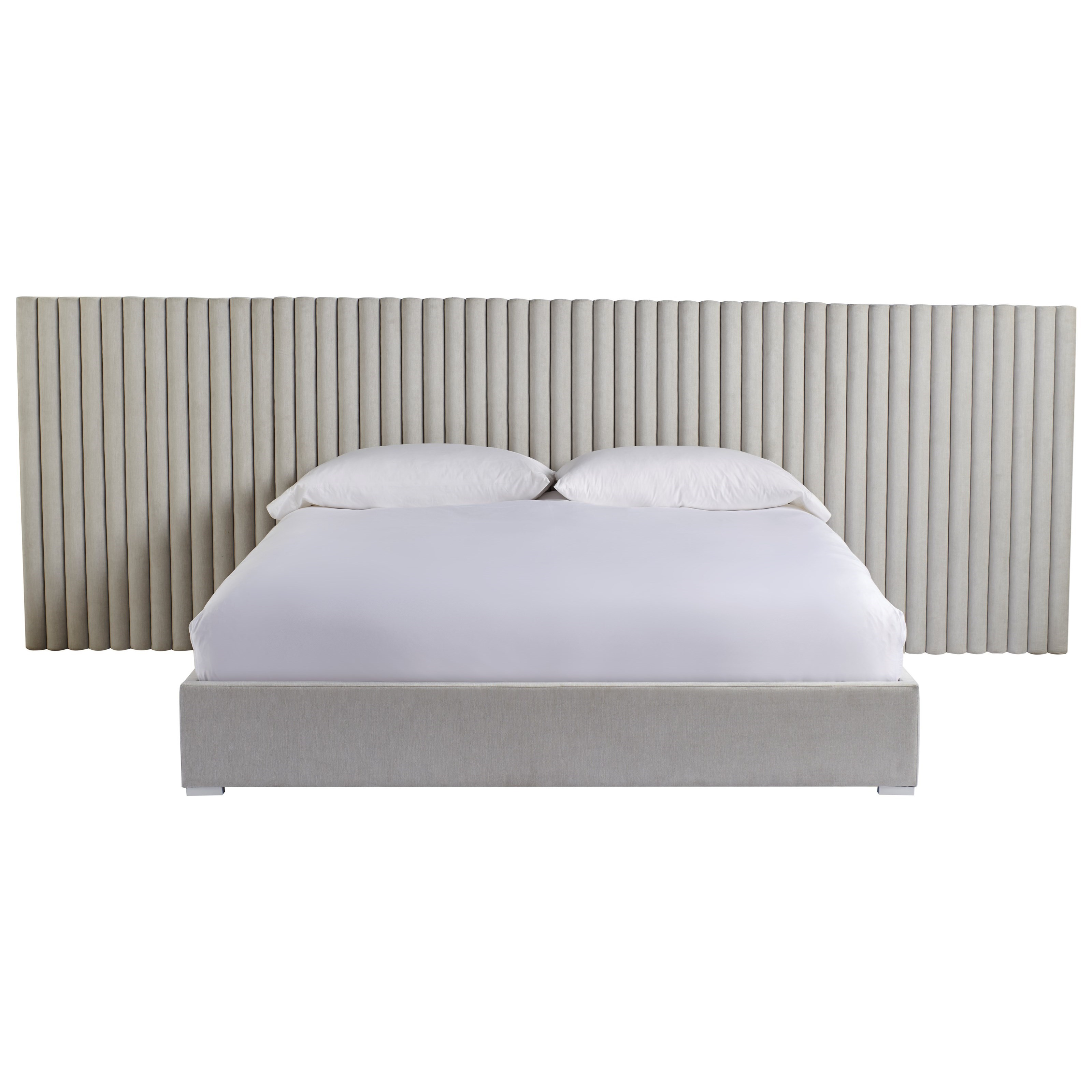 Modern Decker Queen Bed w/ Wall Panels by Universal at Baer's Furniture