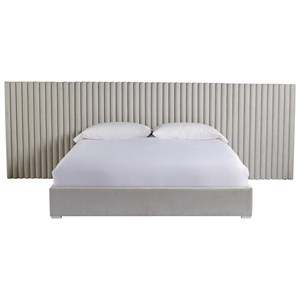 Decker Queen Bed w/ Wall Panels