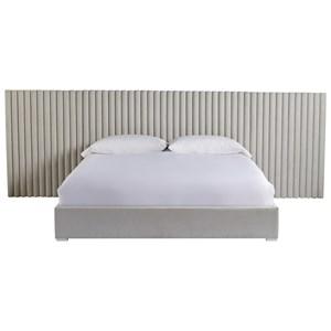 Decker King Bed w/ Wall Panels